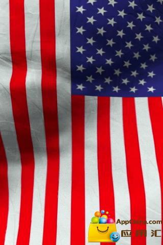 动态壁纸 >美国国旗活墙纸免费