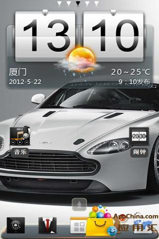 阿斯顿马丁跑车安卓版下载 秀桌面 阿斯顿马丁跑车 1.0手机版高清图片
