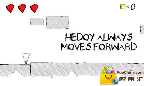 游戏采用黑白的简笔画风格