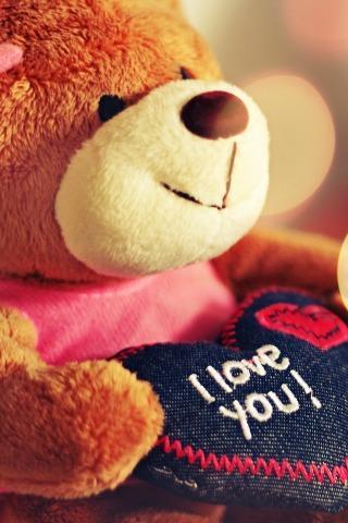 可爱的玩具熊动态壁纸