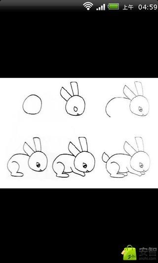 怎么画山羊儿童简笔画步骤教程