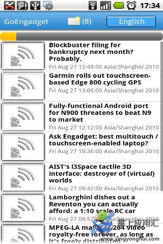 玩免費新聞APP|下載GoEngadget 瘾科技 app不用錢|硬是要APP