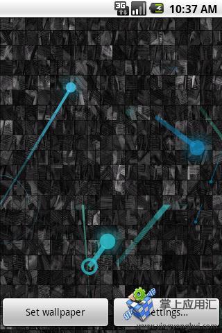 彩色彗星动态壁纸