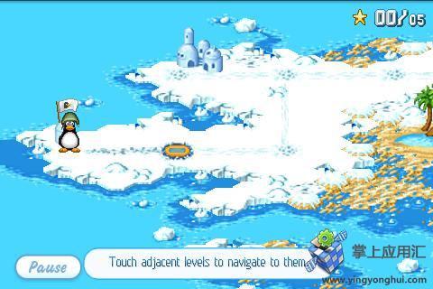 【免費益智App】疯狂企鹅高清版-APP點子