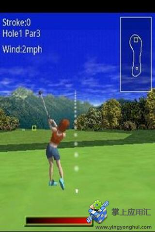 3D三维高尔夫游戏截图1