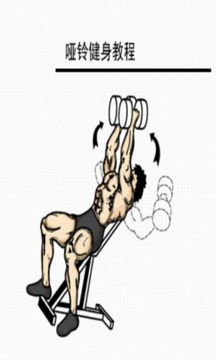 哑铃健身教程截图0