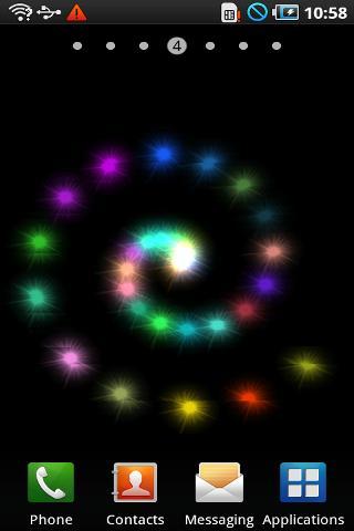 闪烁星星动态壁纸
