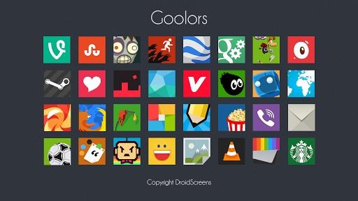 玩工具App|Goolors icons GO/Apex/Nova/ADW免費|APP試玩