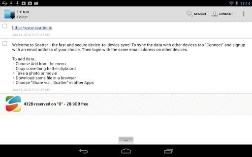 【免費生活App】Scatter数据同步 Scatter-P2P Data Sync-APP點子