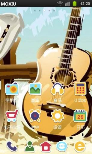 玩免費工具APP|下載吉他风魔秀桌面主题(壁纸美化软件) app不用錢|硬是要APP