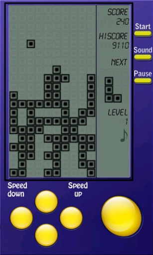 俄罗斯方块(游戏机版)截图2