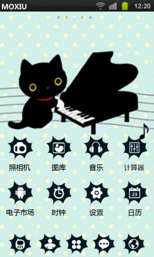 猫咪之歌魔秀桌面主题 壁纸美化软件