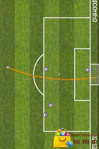 足球射门截图0