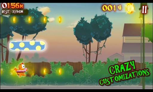 加菲猫的疯狂冒险截图2