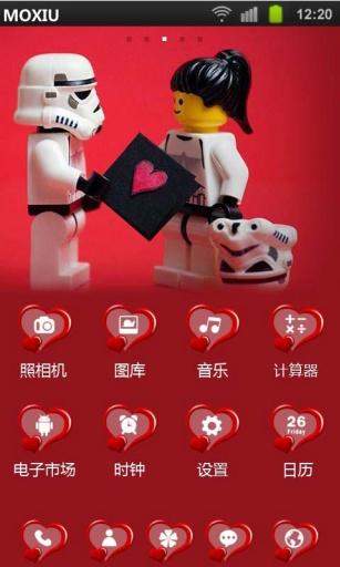 【免費工具App】机器人爱情魔秀桌面主题(壁纸美化软件)-APP點子