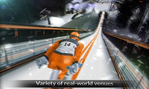 超级高台滑雪