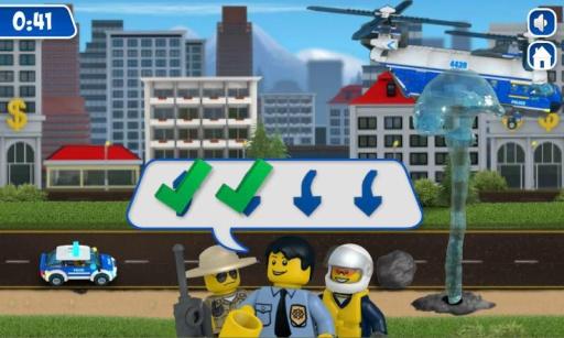 乐高城市之执勤警车截图3