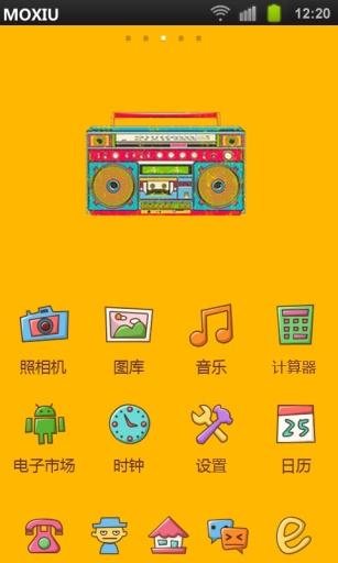 玩免費工具APP|下載复古录音机魔秀桌面主题(壁纸美化软件) app不用錢|硬是要APP