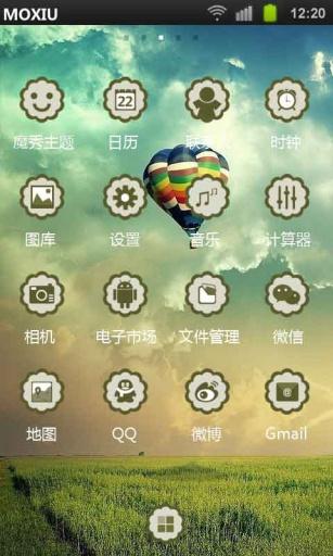 热气球魔秀桌面主题(壁纸美化软件)|玩工具App免費|玩APPs