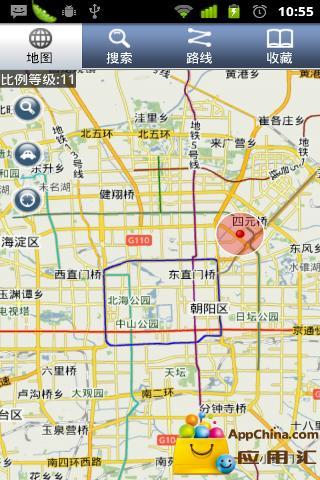 拉手离线地图(没有网络也能用)