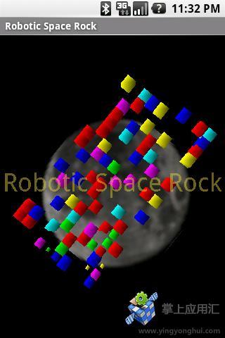 3D空间摇滚石