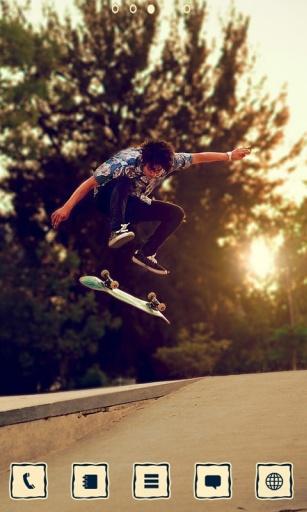 一起来玩滑板