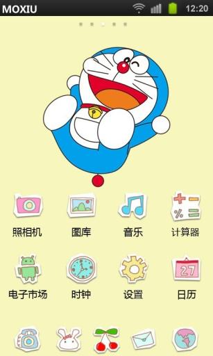 叮当猫魔秀桌面主题(壁纸美化软件)|玩工具App免費|玩APPs