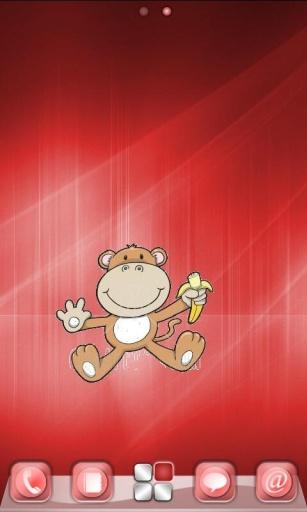 猴年立体装饰贴画