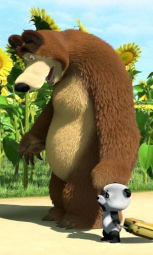 玛莎和熊主题