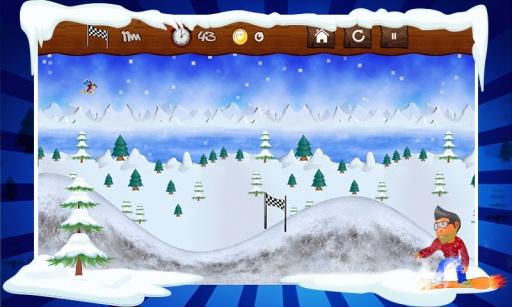 赛车怪诞滑雪冲浪 動作 App-愛順發玩APP