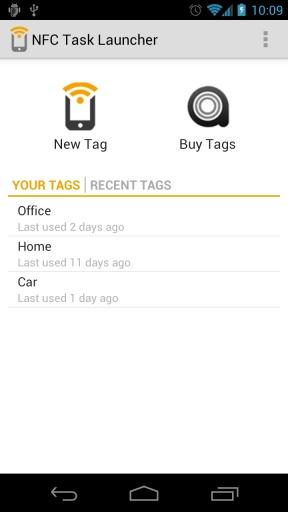 NFC Task Launcher Call Plugin截图0