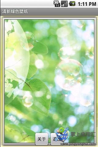 唯美绿色壁纸
