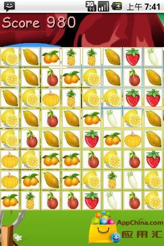 【免費益智App】水果对对碰-APP點子