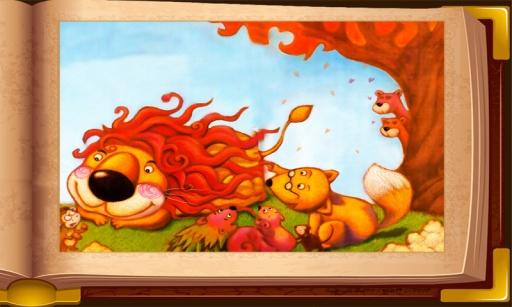 玩免費書籍APP|下載狮子烫头发 童话故事 智慧谷系列 app不用錢|硬是要APP