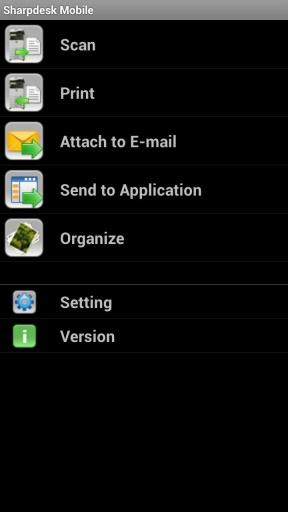 Sharpdesk  Mobile截图0
