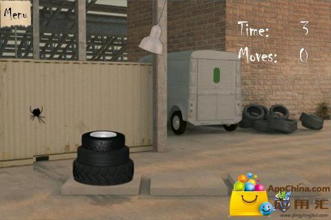 【免費益智App】轮胎汉诺诺-APP點子