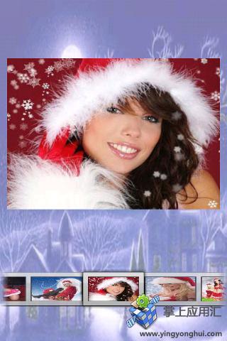圣诞女孩拼图截图0