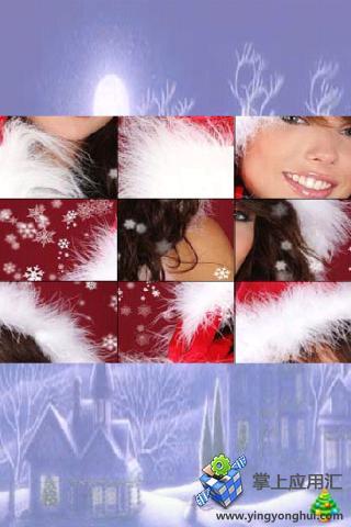 圣诞女孩拼图截图1
