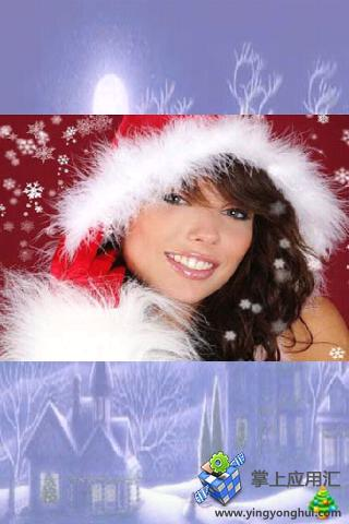圣诞女孩拼图截图2
