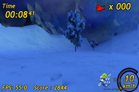 企鹅滑雪3D截图2