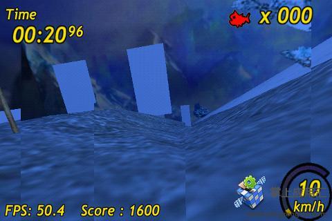 企鹅滑雪3D截图3