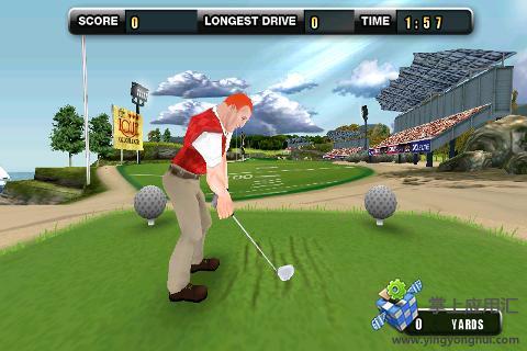 3D高尔夫之战截图1