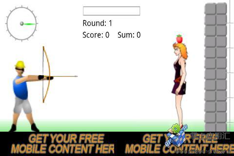 射击苹果女孩版 益智 App-愛順發玩APP