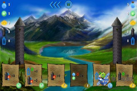 魔法师之战免费版截图2