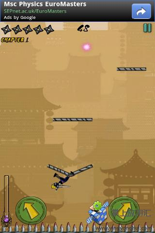 忍者跳跃 Ninja Go!|玩動作App免費|玩APPs