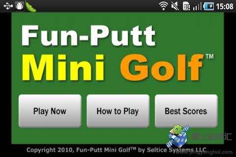 趣味迷你高尔夫