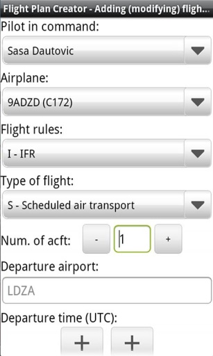 Flight Plan Creator截图3