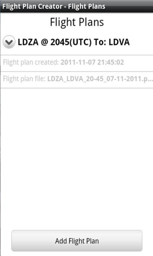 Flight Plan Creator截图4