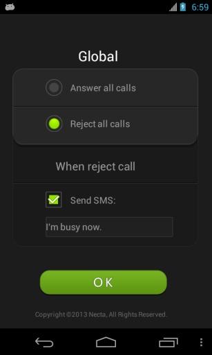 自动接通电话截图1