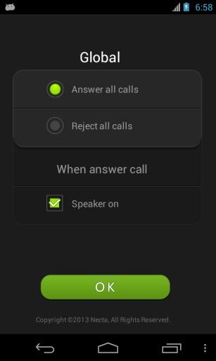 自动接通电话截图2